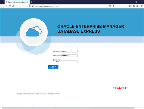 EM Database Express Database Express