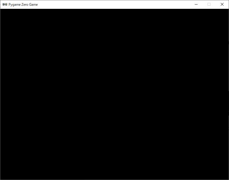 Pygame Zero 画面