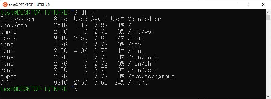 ubuntuインストール動作確認