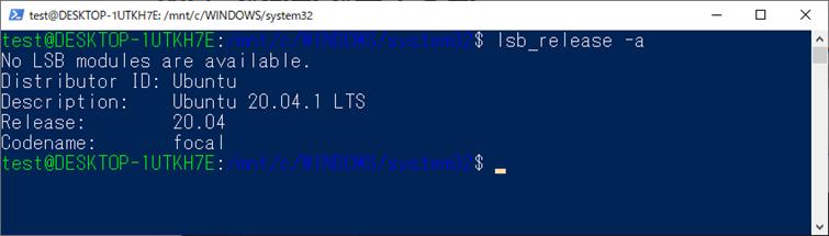Linux環境の確認コマンド